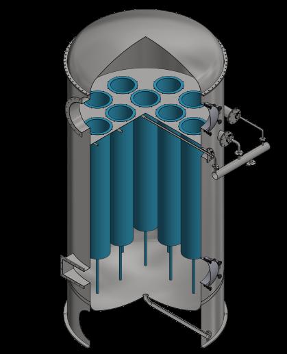 wet filter